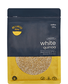 Wellness Road white quinoa