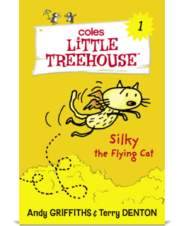 Silky the Flying Cat book