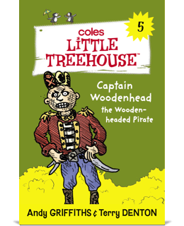 Captain Woodenhead the Wooden-headed Pirate