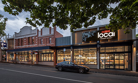 Coles Local store in Surrey Hills