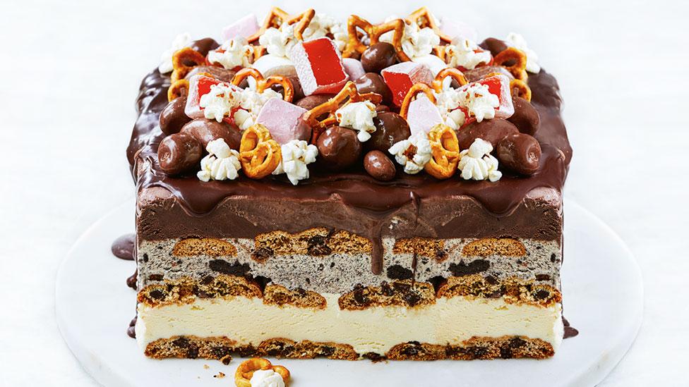 Easy Ice Cream Cake Recipe Coles
