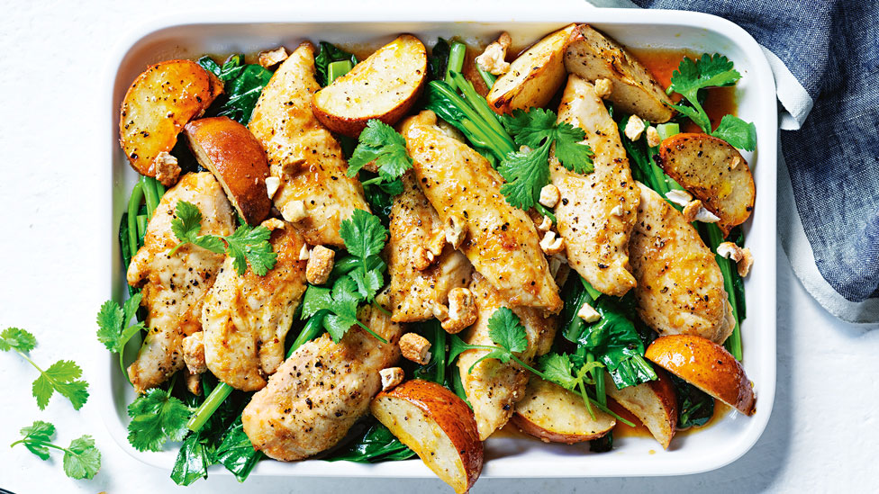 Honey Lemongrass Chicken With Pear Recipe Coles